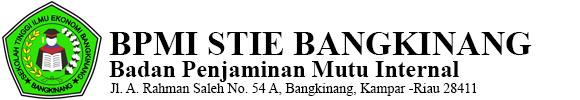 BPMI STIE Bangkinang
